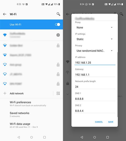 """Hướng dẫn khắc phục lỗi """"Kiểm tra kết nối và thử lại"""" trong Cửa hàng Google Play"""