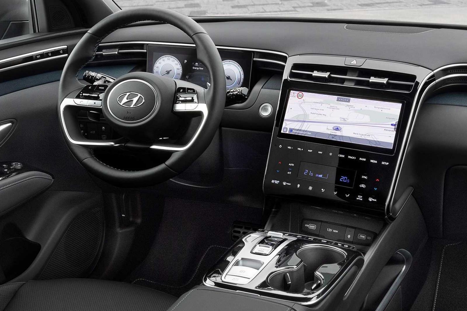 Hyundai Tucson 2021 có nội thất tốt