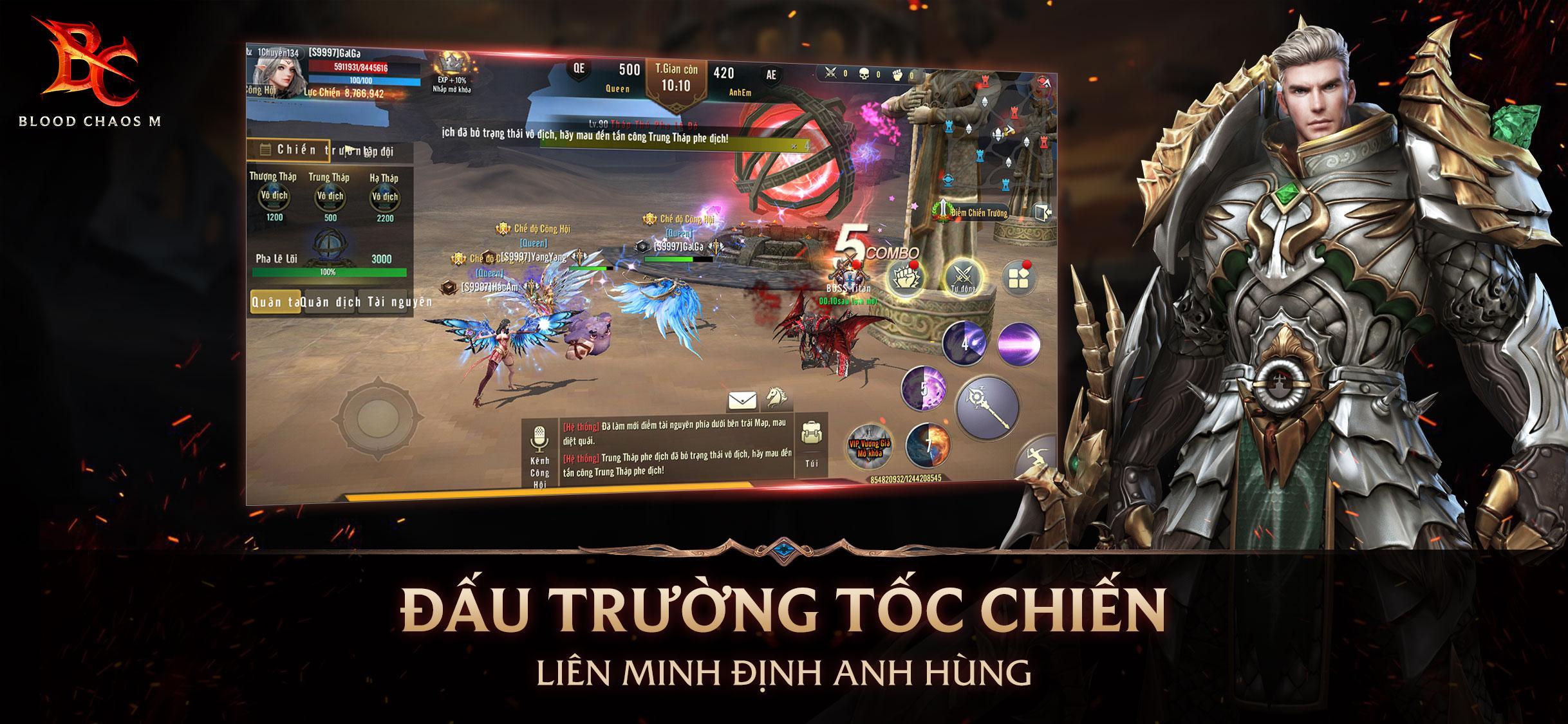 Một tựa game nhập vai bom tấn mang tên Vương Thần Mobile sắp ra mắt 3