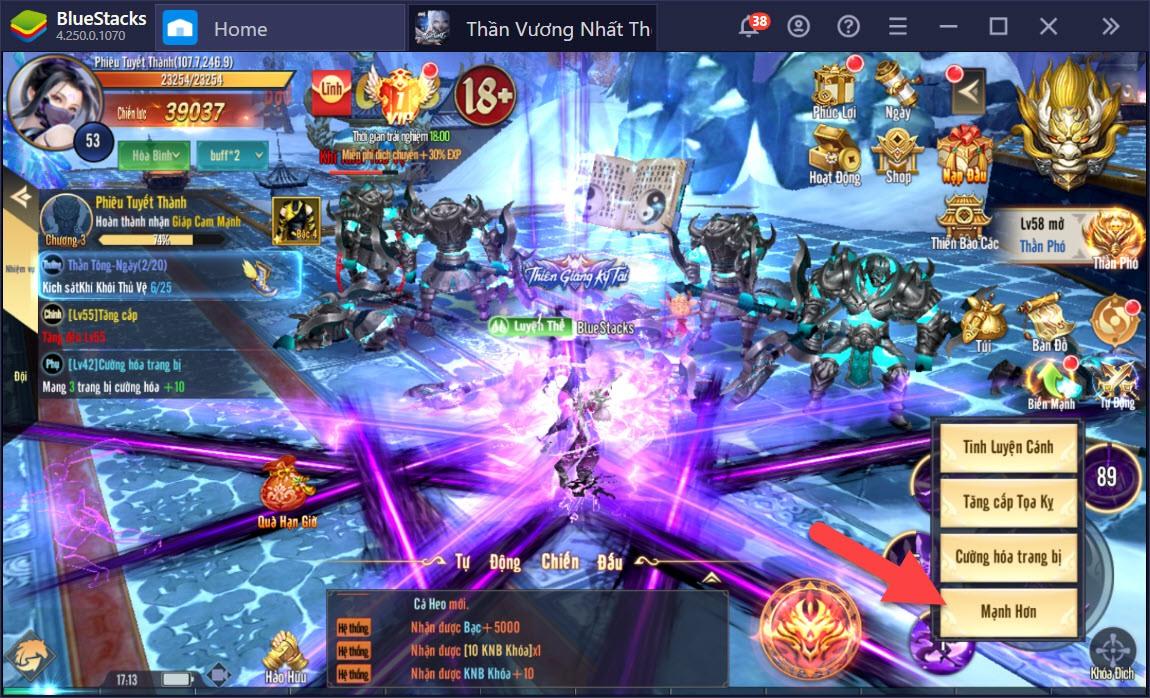Một tựa game nhập vai bom tấn mang tên Vương Thần Mobile sắp ra mắt 2