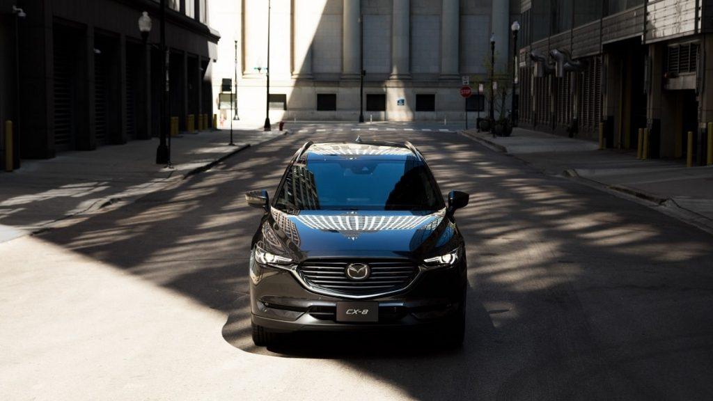 xe Mazda CX8 2021 mới ra mắt