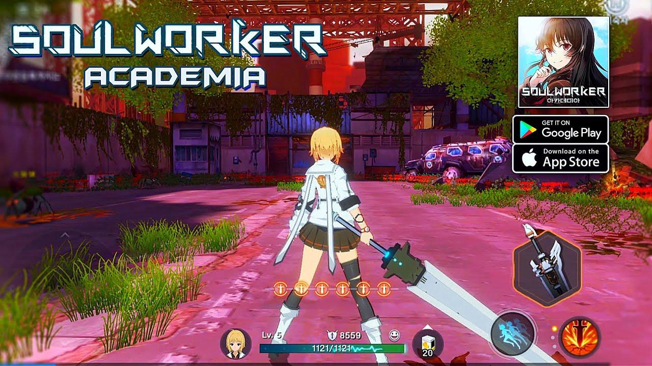Ra mắt các game thủ một siêu phẩm Soul Worker Academia Mobile 1