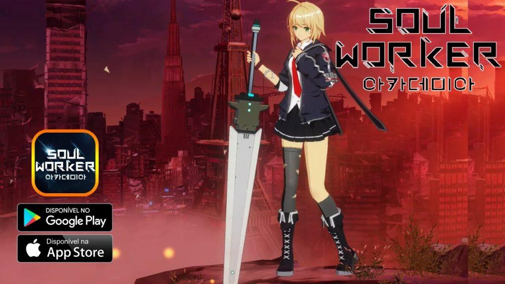 Ra mắt các game thủ một siêu phẩm Soul Worker Academia Mobile